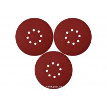 Круг шлифовальный с наждачной бумаги на липучке YATO 180 мм Р240 до YT-82341 3 шт