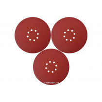 Круг шлифовальный с наждачной бумаги на липучке YATO 225 мм Р120 до YT-82340 и YT-82350 3 шт