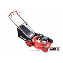 Газонокосилка 4-колесная бензиновая YATO 2200 Вт 141 см³ 460/25-75 мм