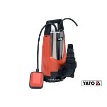Насос для грязной воды YATO 1100 Вт 14000 л/ч 10 м