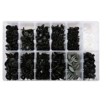 Шпинки для автосалоної обшивки VOLVO YATO, різні, 12 типорозмірів, 350 шт.