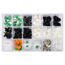 Шпинки для автосалоної обшивки AUDI YATO, різні, 12 типорозмірів, 160 шт.
