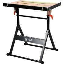 Стіл розкладний для зварювальних робіт YATO, 66x 59x 83 cм, макс. навантаж.- 150 кг