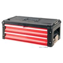 Ящик-секция для инструментов до ящика-тележки YT-09101 YATO с 2 шуфлядами 390 х 215 х 60 мм