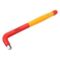 Ключ 6-гранний Г-подібний YATO М12 мм l=260 мм b=60 мм з діелектрично ізольованим корпусом до 1000 В