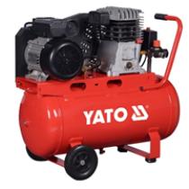 Компрессор сетевой профессиональный YATO 230 В, 2.2 кВт, давление ≤ 8 Bar, под. воздух-199 л / мин, ресивер-50 л