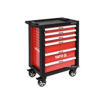 Шафа для інструментів YATO на колесах 6 шуфляд 975 x 765 x 465 мм