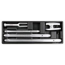 Вклад до інструментальної шафи YATO з 3 монтажн. лопатками для шин, знімач кермов. тяг і кульових оп