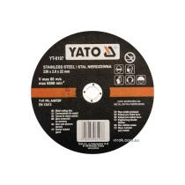 Диск отрезной по металлу YATO 230х1.9х22 мм