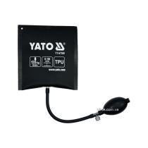 Подушка монтажна, надувна YATO для навантаження - 135 кг, висоти 2-50 мм, габарити - 150 х 160 мм