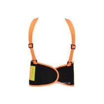 Пояс для підтримки спини YATO еластичний зі збільшеною видністю (оранжевий), 125х 20 см, розмір XL