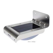 Світильник вуличний YATO сонячний акумулятор.-3.7 В 900мАг з датчиком руху-3 м світл. P=120 lm