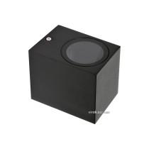 Світильник 1-LED настінний, мережевий YATO, квадратний, 35 Вт, 68 х 81 х 92 мм, цоколь GU10