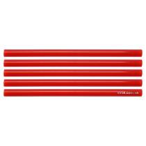 Клеевые стержни красные YATO 11.2 x 200 мм 5 шт