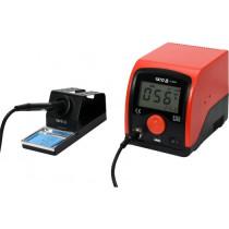 Паяльна станція мережева YATO; Р= 75 Вт, t°= 200-480°С, жало тип 900М, LCD табло з USB заряджанням