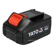 Аккумулятор YATO Li-Ion 18 В 4 Ач