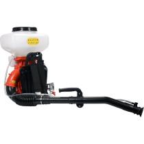 Оприскувач з приводом від бензодвигуна YATO: 2,13 кВт, бачок- 20 л, продуктивність- 17 л/хв